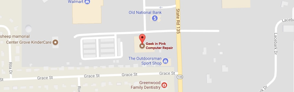 Greenwood Computer Repair - Geek In Pink