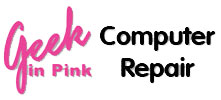 Geek in Pink Logo