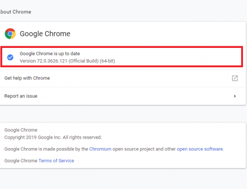 Urgent Google Chrome Update